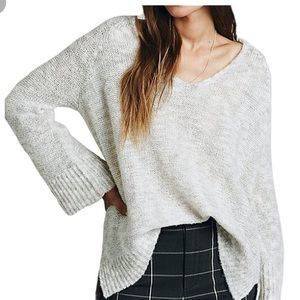 Free People Sweaters - Free people bell sleeve sweater